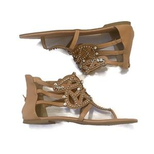 Torrid jeweled gladiator sandals